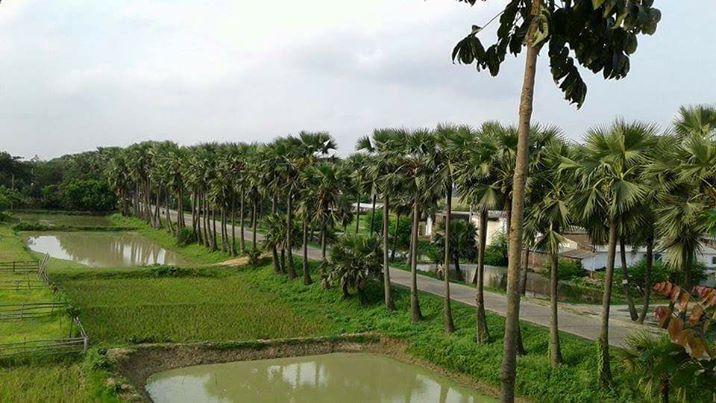 santahar barma road