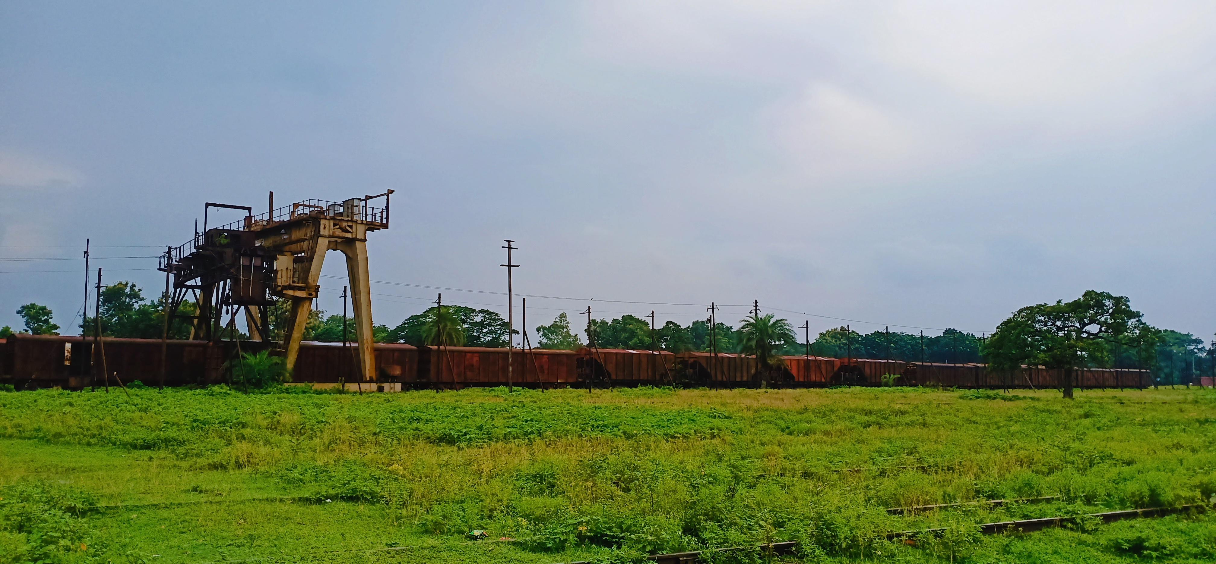 সান্তাহার জংশন এলাকা। ছবি : সান্তাহার ডটকম টিম