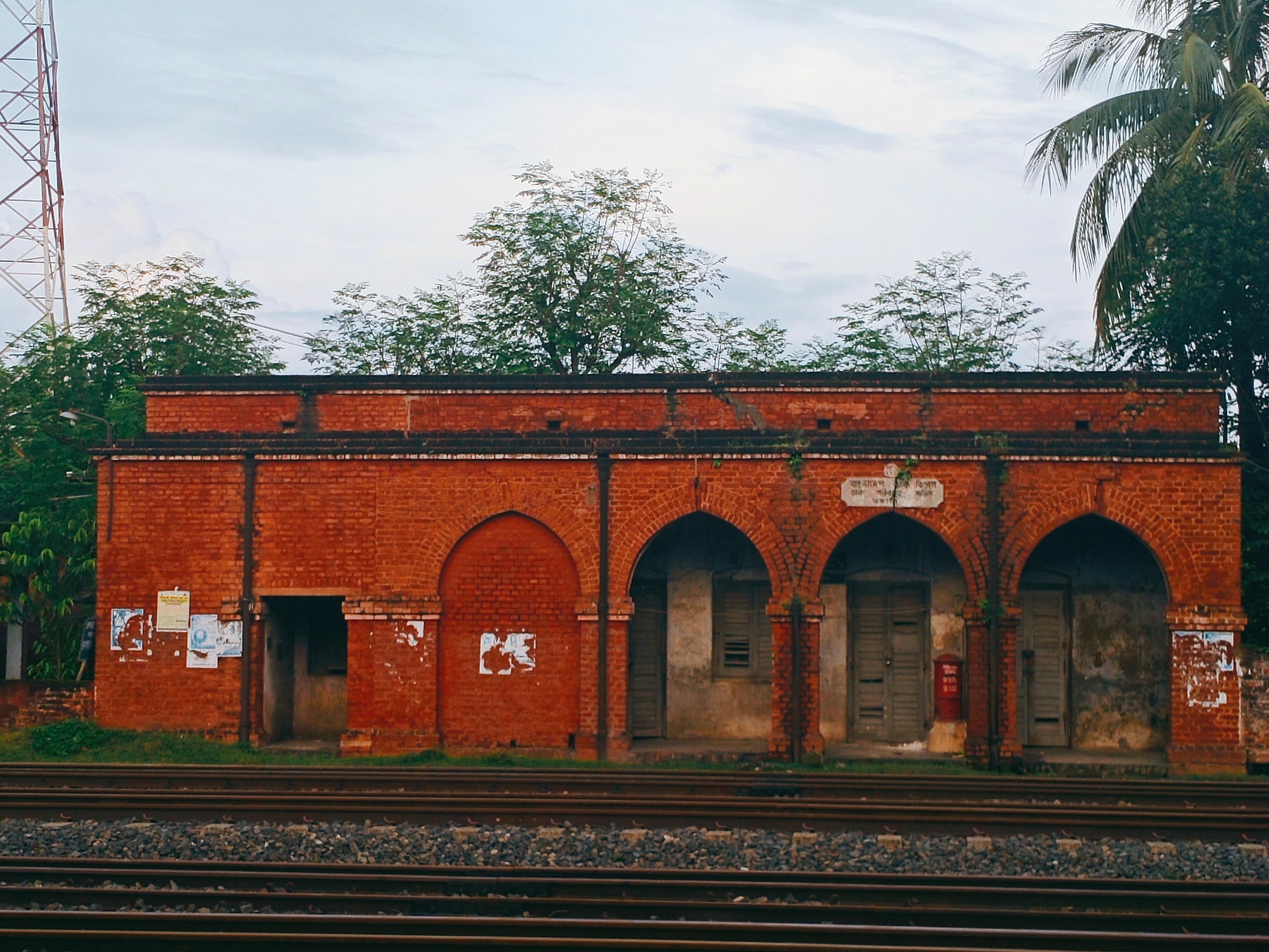 সান্তাহার রেলওয়ে পোস্ট অফিসের পুরনো ভবন। ছবি : সান্তাহার ডটকম টিম
